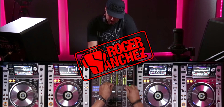 Photo of The S-Man aka Roger Sanchez – live 2014