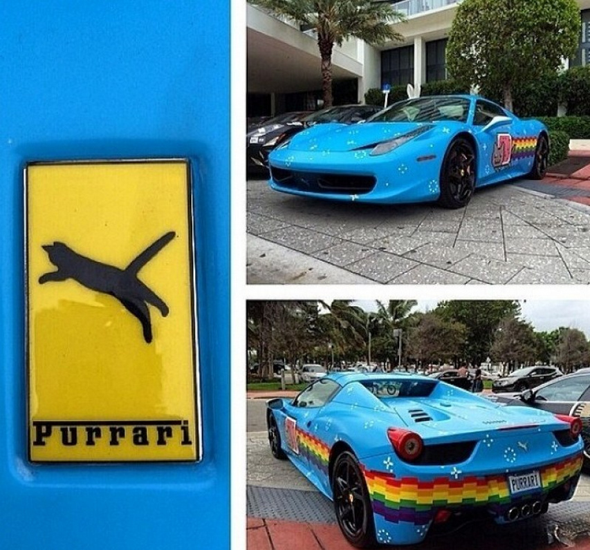 purrari Documental 'Spirit of Gumball' de Deadmau5