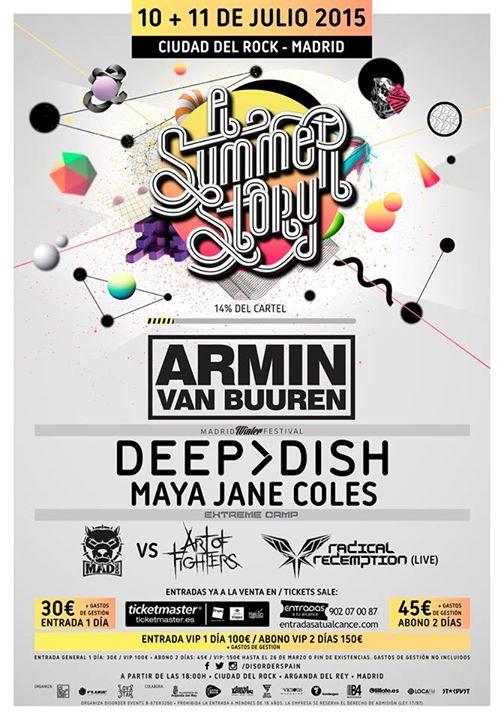 10346624_926974550667434_8084402094377700714_n Armin van Buuren en Madrid al 'A Summer Story'