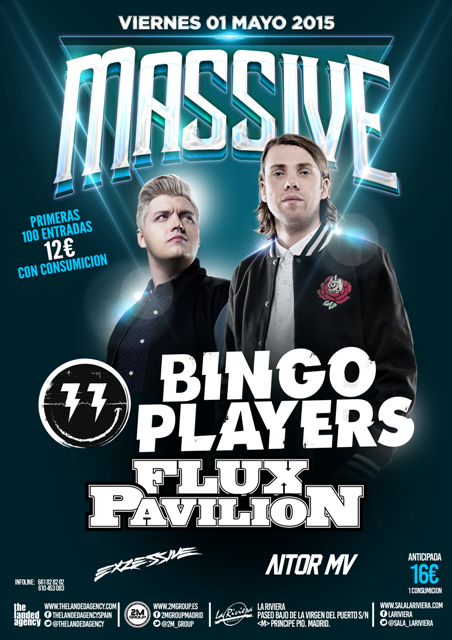 2015.05-Massive-1 MASSIVE trae a Bingo Players y Flux Pavilion a La Riviera