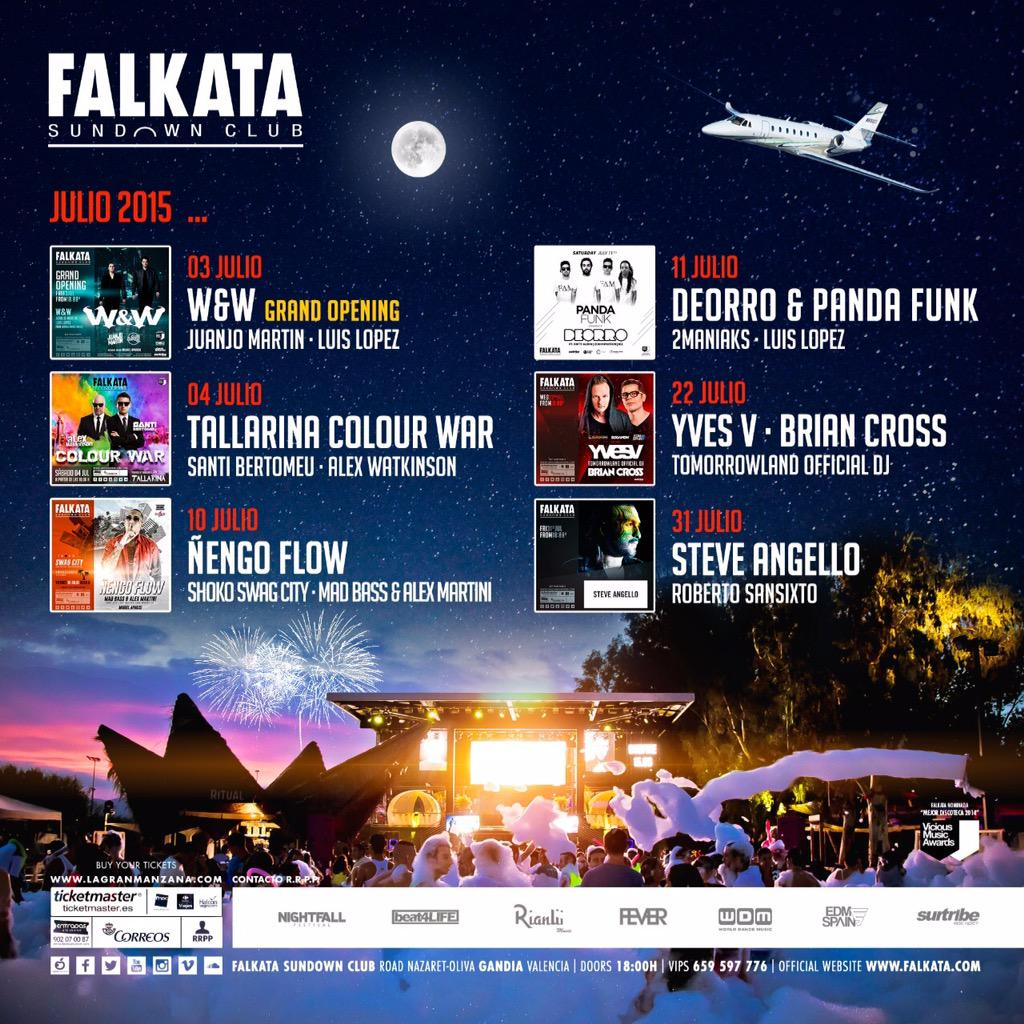 CG1eNVgXAAErBUT Falkata Sundown Club inicia temporada con grandes confirmaciones
