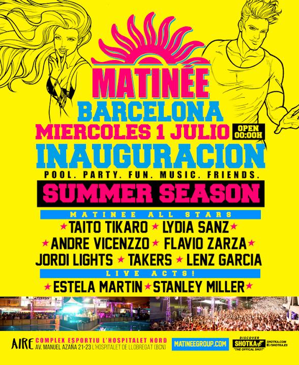 matinee-barcelona Matinée Barcelona Summer Season