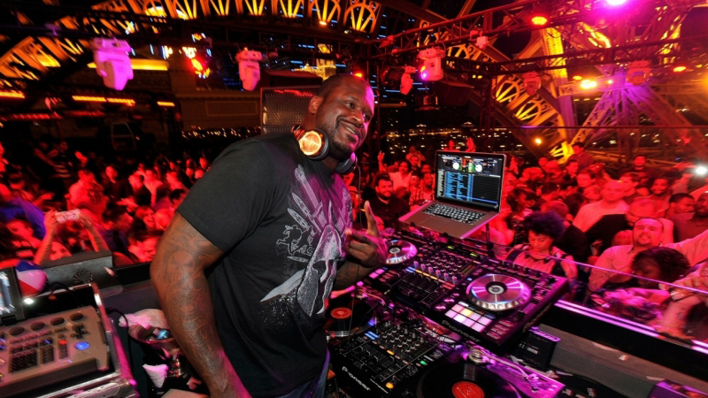 Photo of Shaquille O'Neal en Tomorrowland 2016