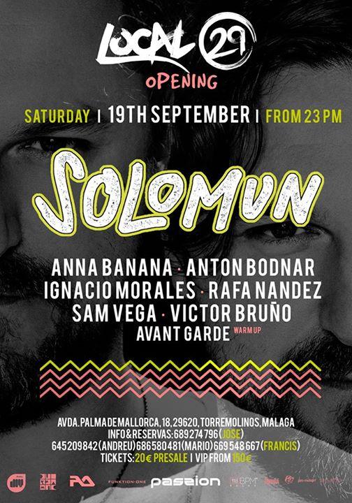 solomun-local-29-edmred Solomun en Torremolinos el 19 de septiembre