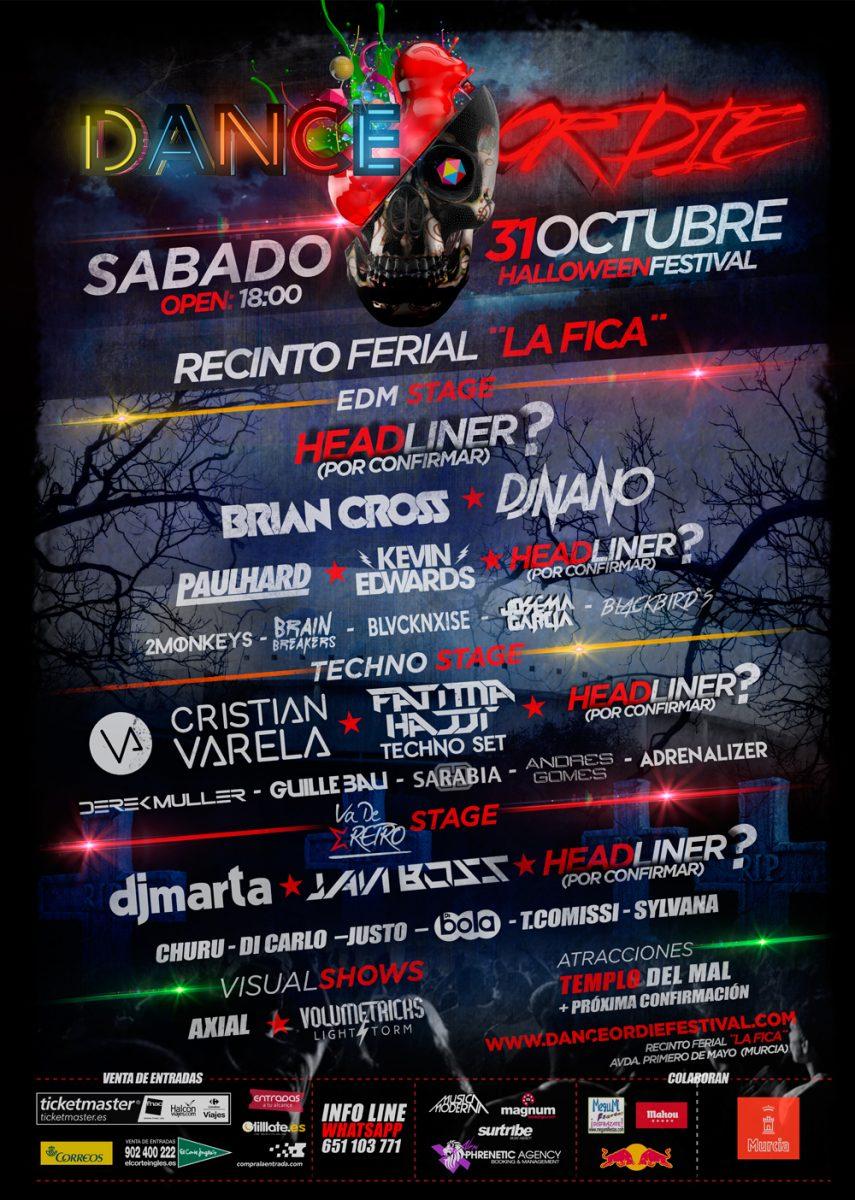2ºAvance-DanceorDie Dance or Die Festival en Murcia por Halloween