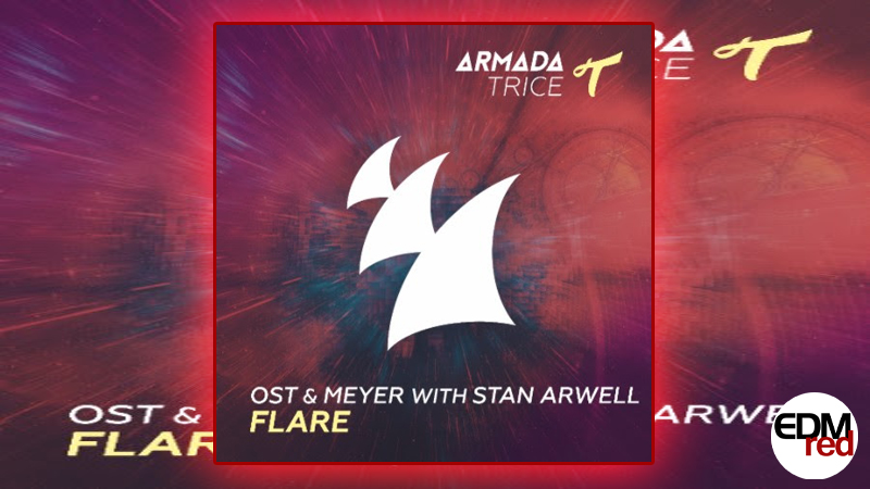 Photo of Ost & Meyer with Stan Arwell – Flare