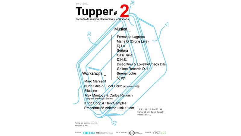 Photo of Tupper#2 Jornada de Música Electrónica y Workshops
