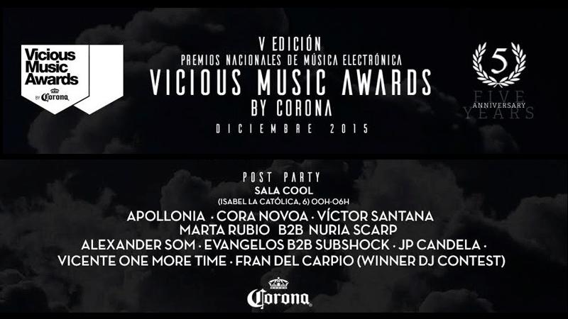 Photo of Ganadores de los Vicious Music Awards