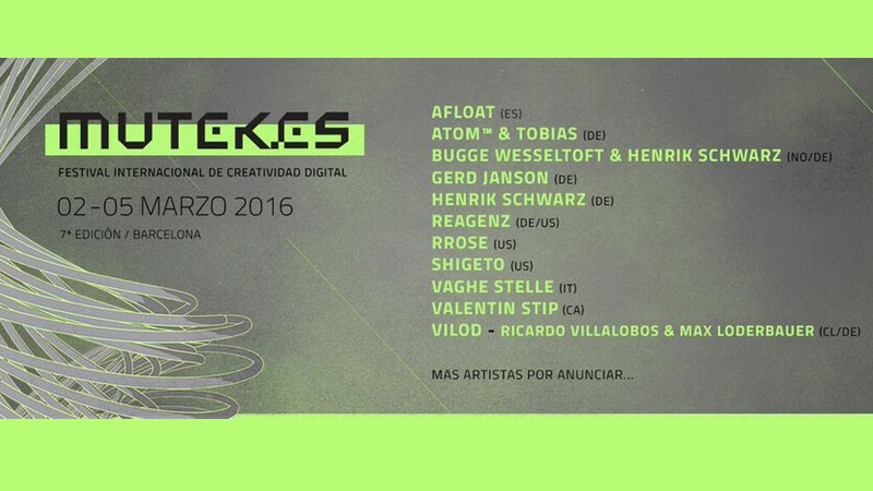 Photo of First names for MUTEK Barcelona 16