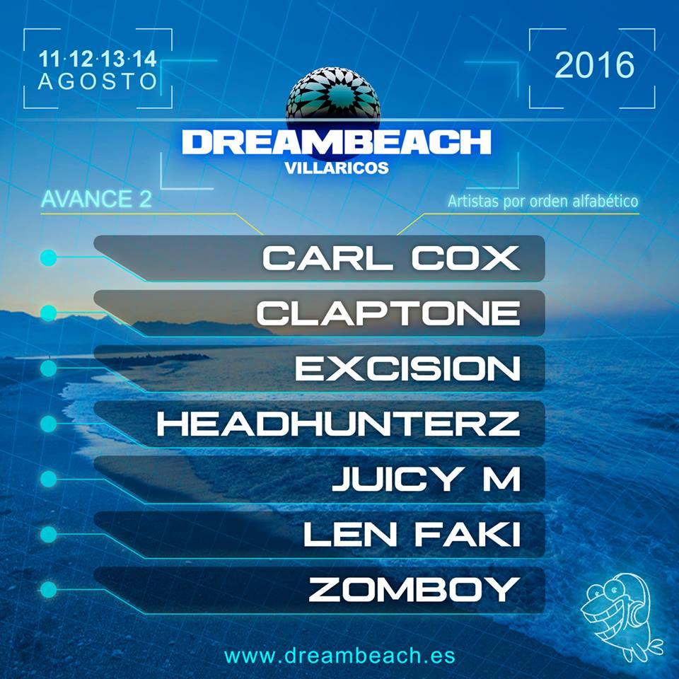 segundo-avance-dreambeach-EDMred Segundo avance de cartel Dreambeach 2016