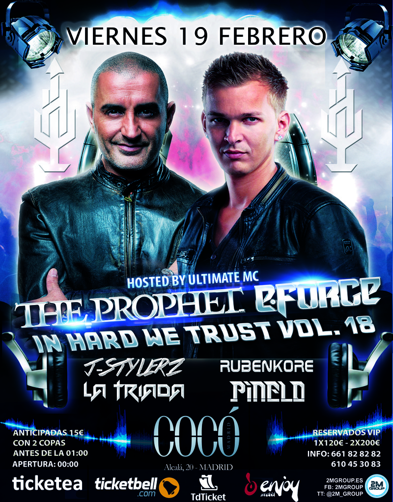 In-Hard-We-Trust-Vol18-EDMred In hard we trust con E·Force y The Prophet