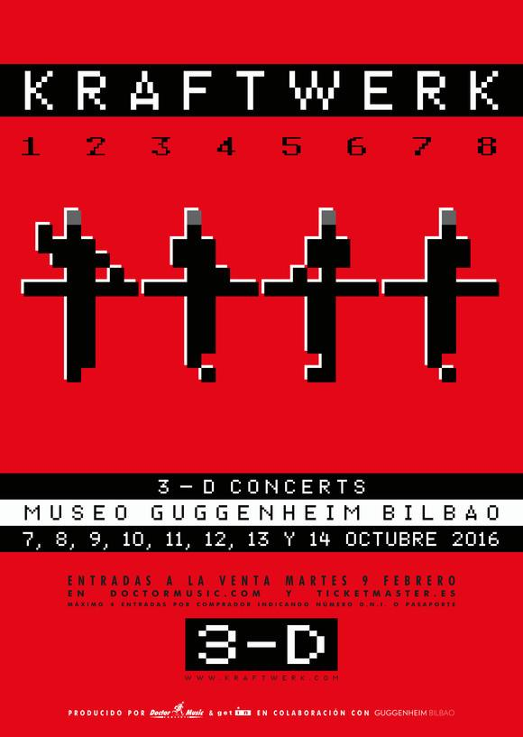 karftwerk-en-bilbao-EDMred Kraftwerk en Bilbao en el Museo Guggenheim
