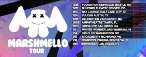 marshmello-tour-300x118 Lo mejor de Marshmello en 'Joytime'