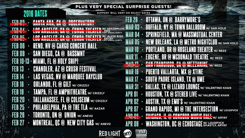 Friendzy-Tour-Jauz-EDMred Jauz hace que Skrillex baile con el público
