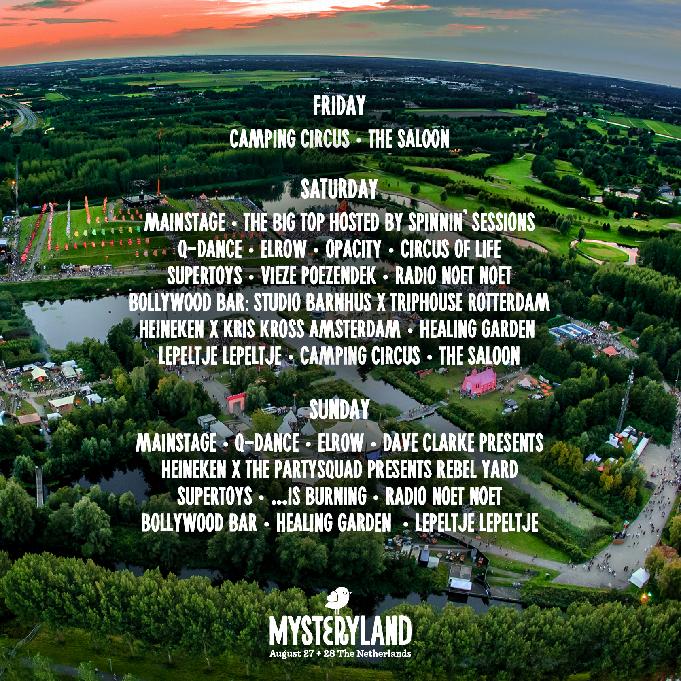 areas-mysteryland-2016-EDMred Elrow, Spinnin y Q-Dance estarán en Mysteryland 2016