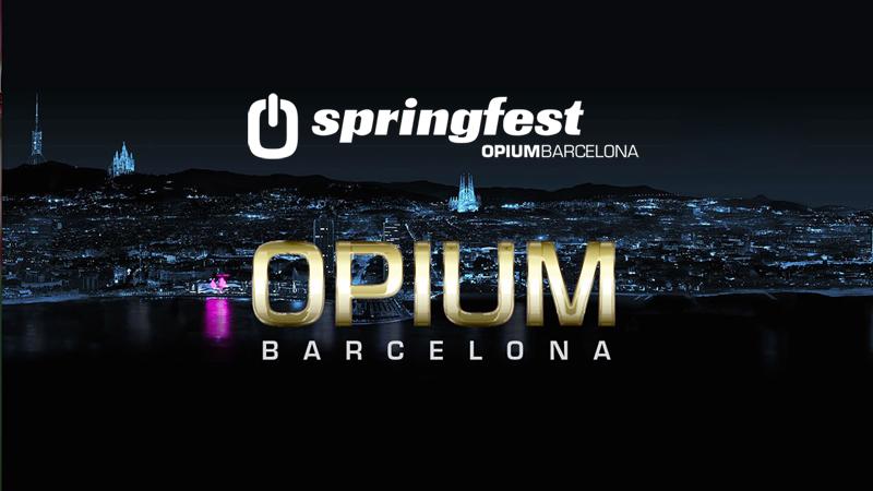 Photo of LineUp completo de Springfest de Opium Barcelona