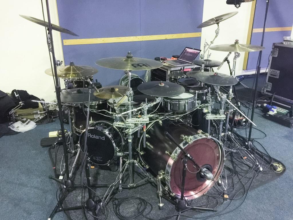 pendulum-drum-kit KJ Sawka nos da un pequeño avance del nuevo Live Show de Pendulum