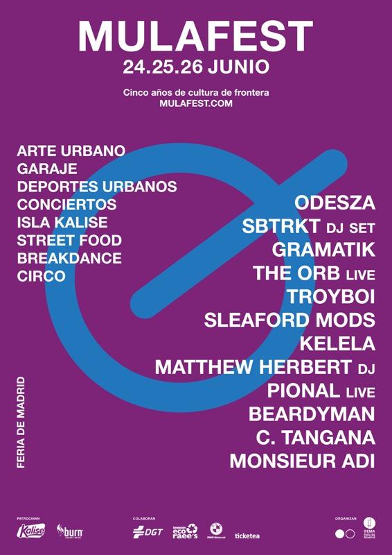 Cartel-Mulafest-2016-EDMred Mulafest 2016 desvela cartel para este año