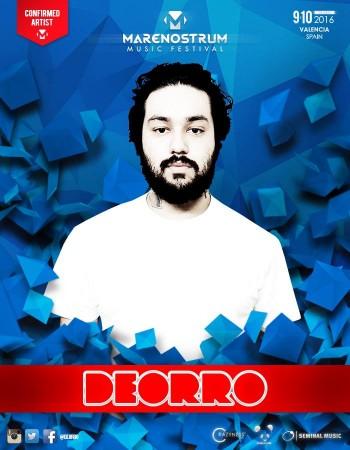 Deorro-EDMred-350x450 Deorro estará en Marenostrum Music Festival