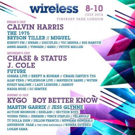 Wireless-Line-Up-EDMred-450x450 Wireless Festival, categoría y variedad