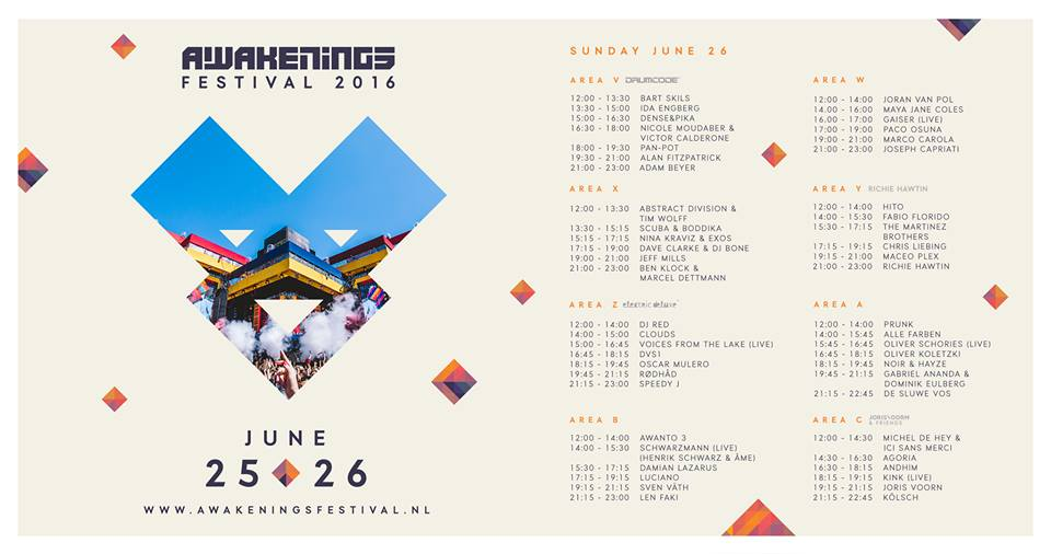 horarios-awakenings-2016-EDMred Horarios de Awakenings Fest ya disponibles