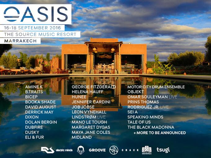 oasis-festival-lineup-EDMred Nuevas confirmaciones para Oasis Festival de Marruecos