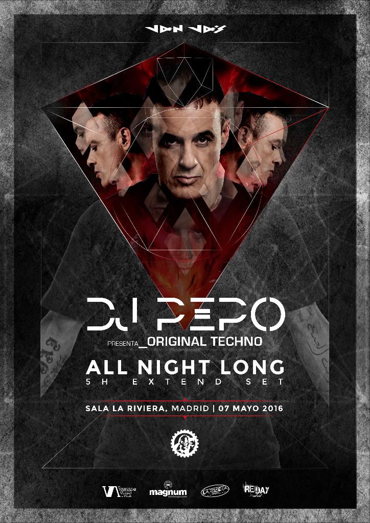 """pepo-la-riviera-original-techno-EDMred DJ  Pepo nos presenta """"Original Techno"""""""