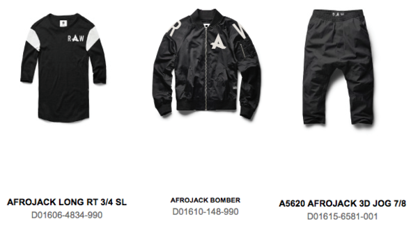 ropa-Afrojack-G-Star-EDMred Nueva línea de ropa Afrojack x G-Star RAW