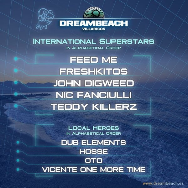 CfRUPHJWsAAYkqz Confirmaciones y ElRow closing party para Dreambeach Villaricos