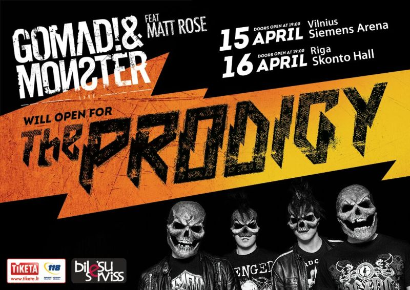 GoMad-Monster-the-prodigy-EDMred GoMad! & Monster - Antichrist EP