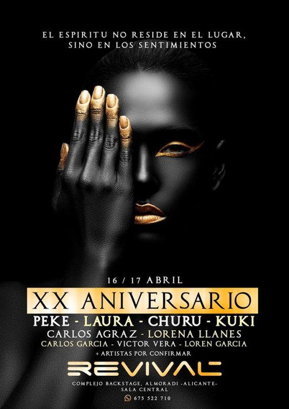 Revival_XX_Aniversario La histórica discoteca Revival celebra su 20 aniversario
