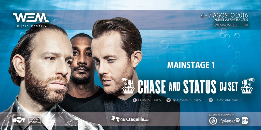 chase-and-status-WEM-Music-Festival-EDMred Nace WEM Music Festival