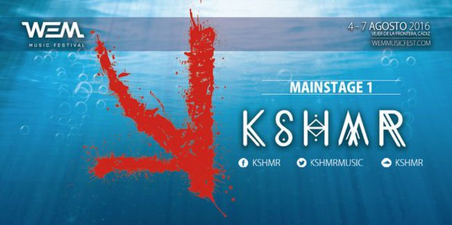 kshme-WEM-EDMred Nace WEM Music Festival