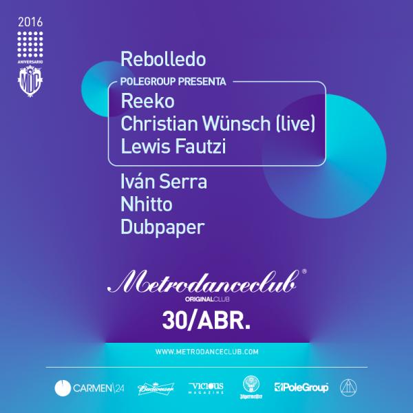 metro-dance-polegroup-EDMres Sorteo Metro Dance Club Original 30 abril
