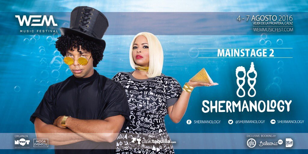 shermanology-WEM-EDMred Nace WEM Music Festival