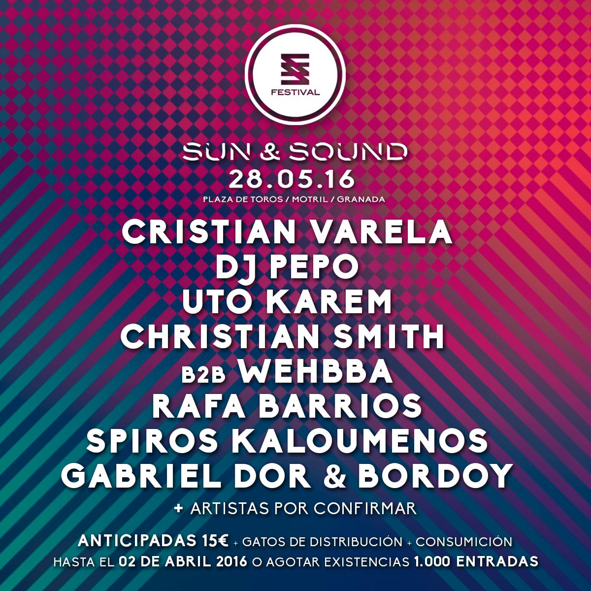 sun-sound-EDMred Sun & Sound, 16 horas de techno en Granada