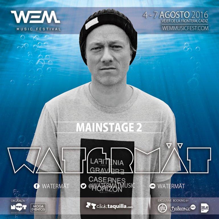 watermät-WEM-EDMred Nace WEM Music Festival