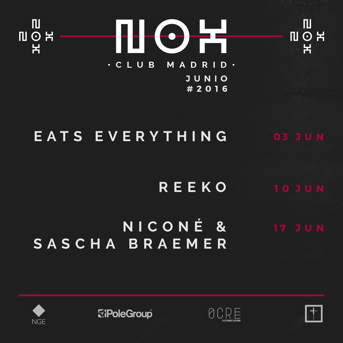 Nox-junio-EDMred Eats Everithings estrena junio en NOX