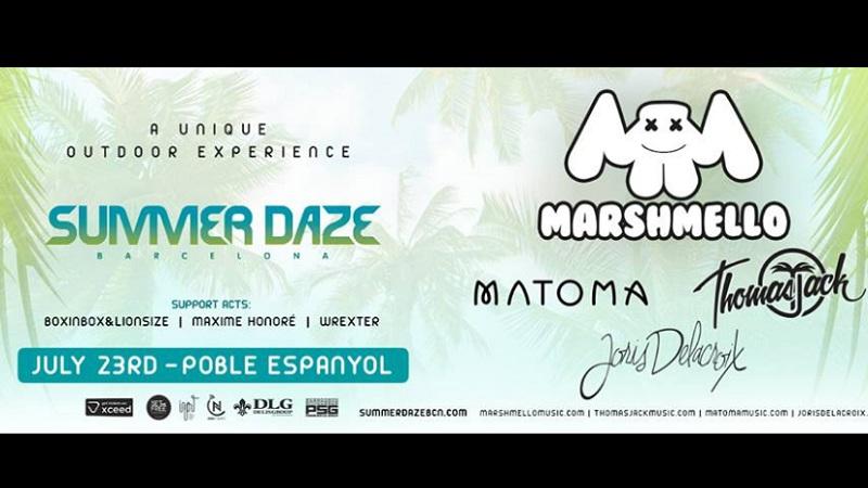Summer-EDMred 10 días para Marshmello en Summer Daze