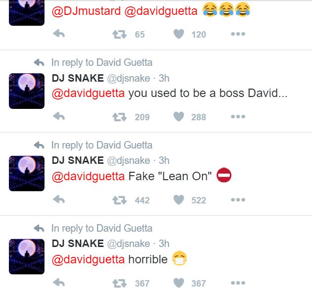 twitter-snake-vs-guetta-EDMred Dj Snake carga duramente contra David Guetta