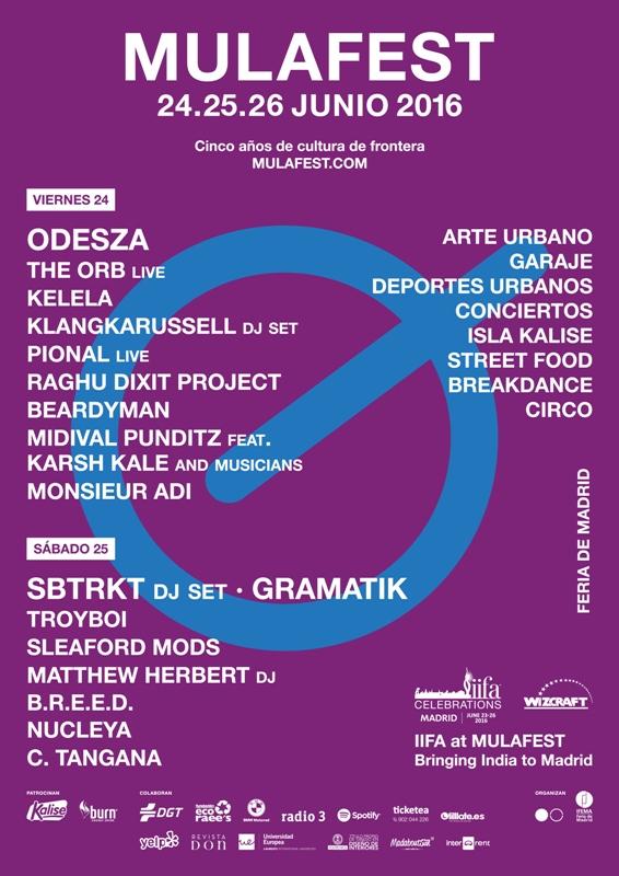 Cartel-Mulafest-2016-EDMred Mulafest 2016: Cartel completo y horarios