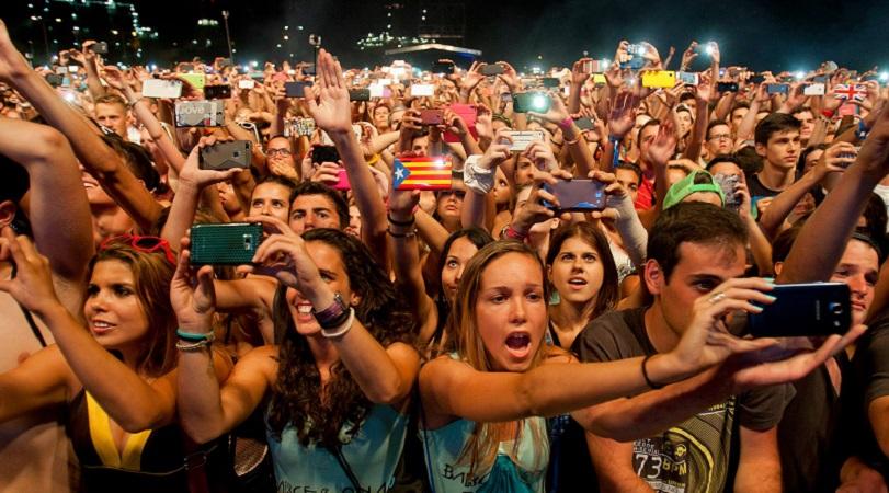 festival-phones Los festivales vuelven a España
