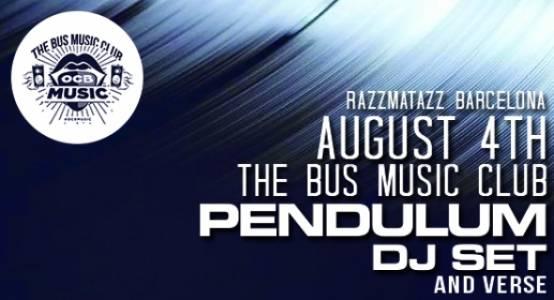Agosto4Pendulum Vuelve Pendulum a Razzmatazz con su DJ Set & Verse