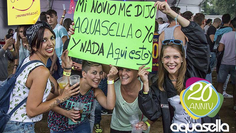 Aquasella-EDMred Los siete tipos de festivaleros