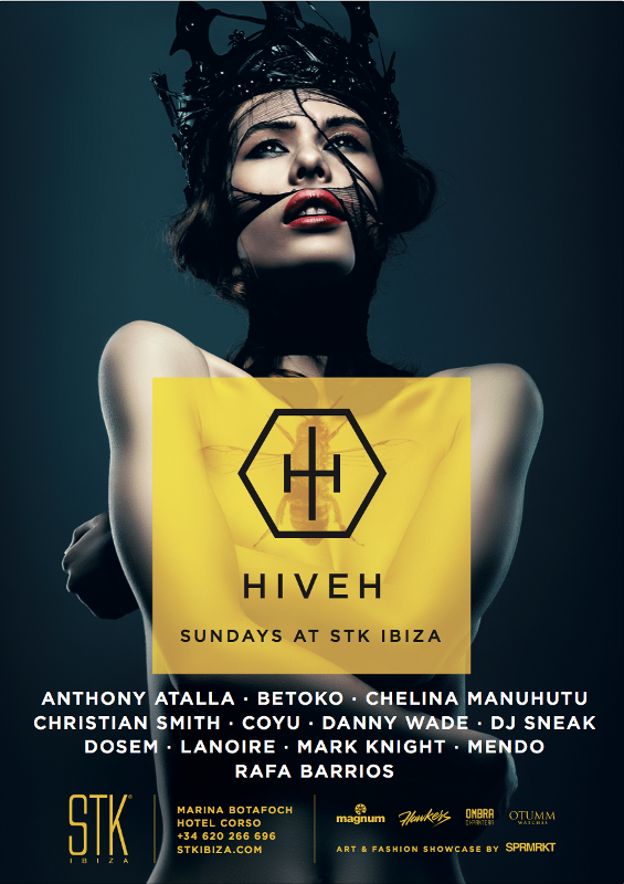 cartel-hiveh-ibiza-EDMred HIVEH, nueva apuesta para los domingos en Ibiza