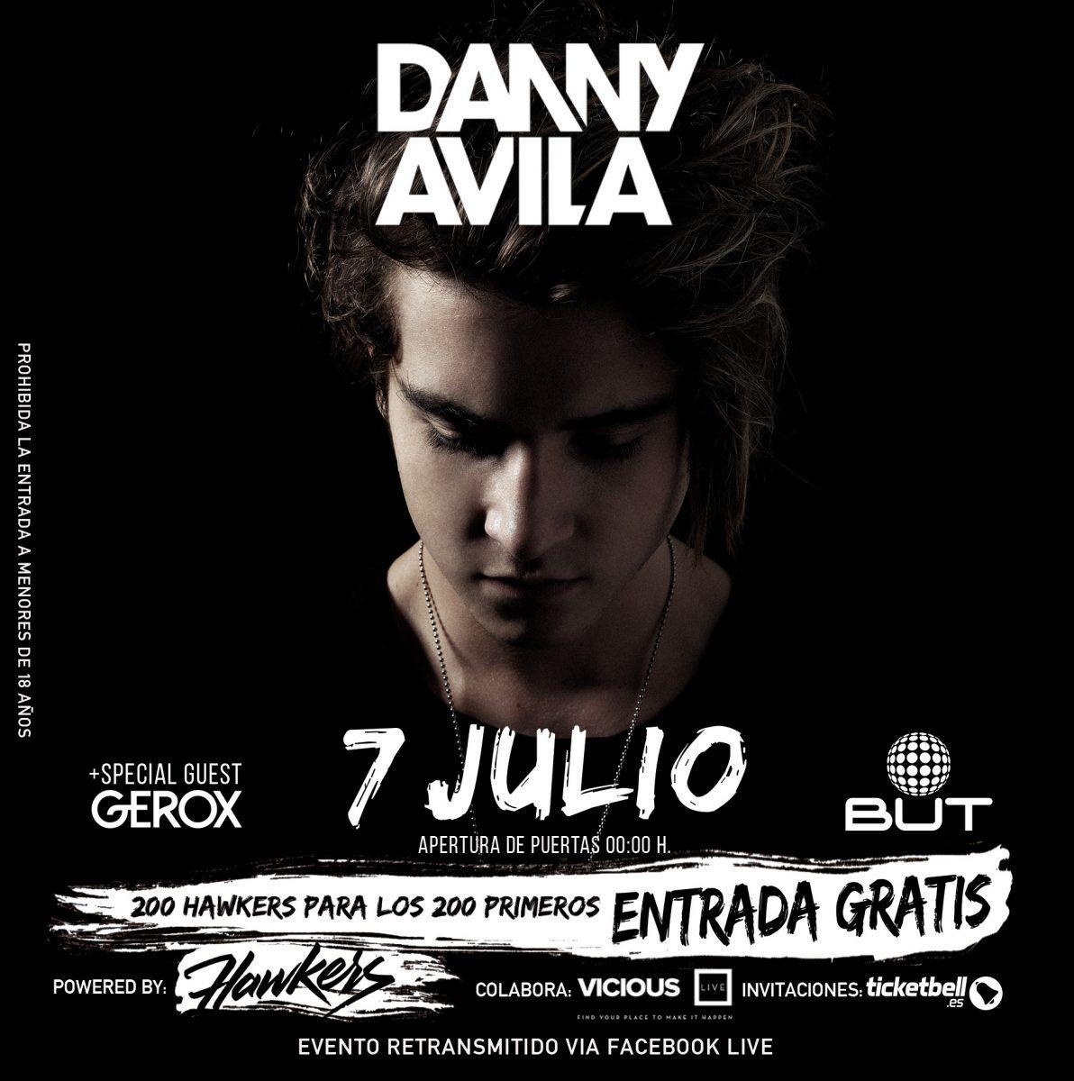 danny-avila-sala-but-EDMred Danny Avila en Madrid gratis