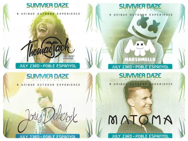 djs-Summer-Daze-2016-EDMred 10 días para Marshmello en Summer Daze
