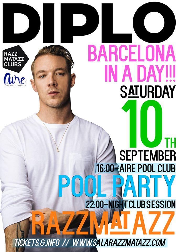 diplo-barcelona 24 horas con Diplo en Barcelona