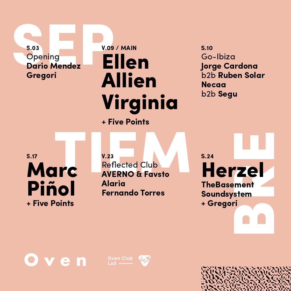 OVEN-LA3-2016-FLYER-2 Oven Club/La3 con el mejor underground para Valencia