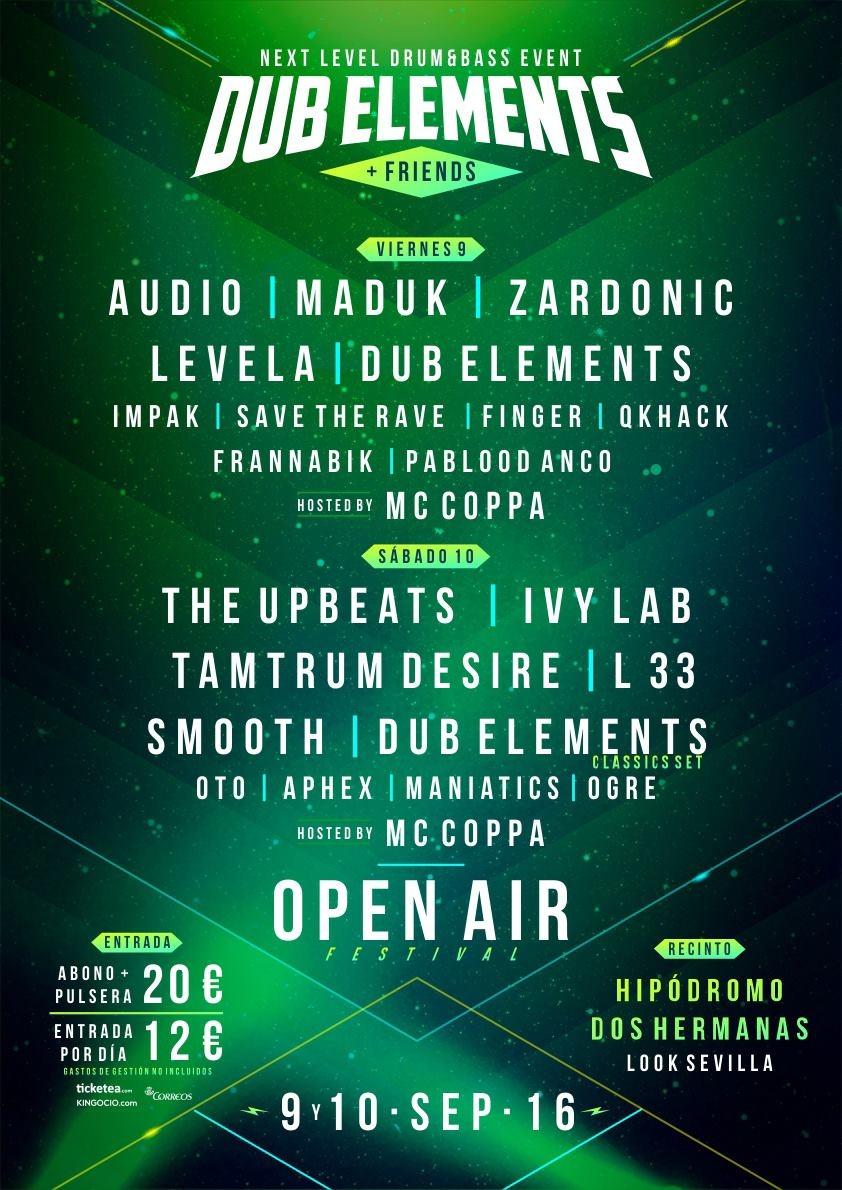 dub-elements-and-friends-EDMred Sorteo Dub Elements + Friends en Sevilla 8-9 sep